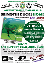 Bring The Ducks Home single advert