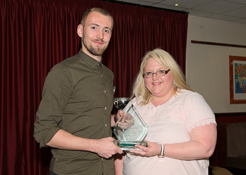 Supporter's Player of the Year Jake Bewley