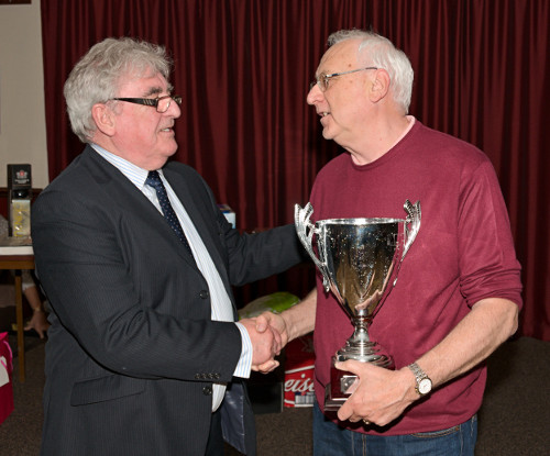 Clubman of the Year Mike Snell