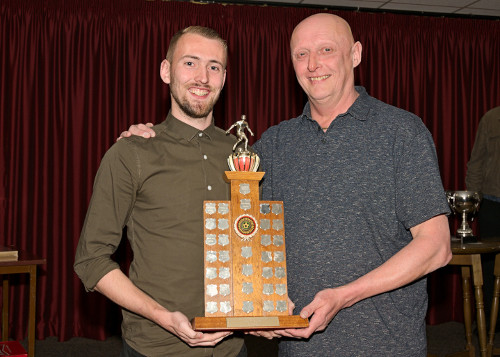 Players' Player of the Year Jake Bewley
