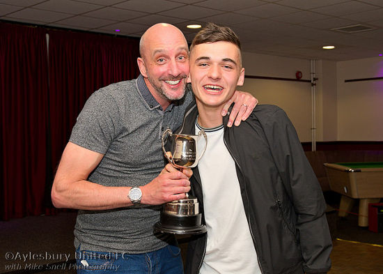 The Gary Hawksworth Memorial Trophy for Most Improved Player BEN SEATON