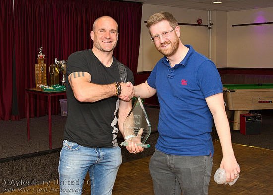Supporters' Player of the Year Greg Williams